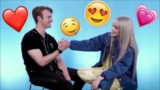 sibling goals. (Billie Eilish and Finneas O'connel moments)