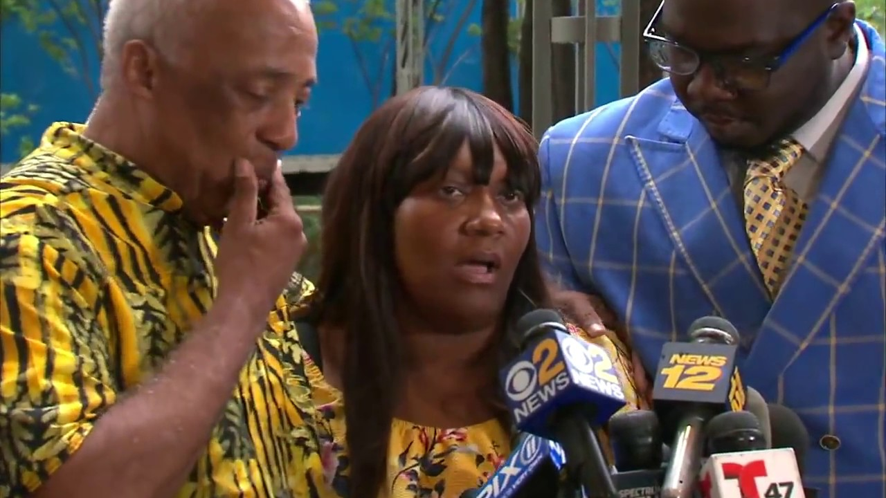 Mother of Man shot by off-duty officer speaks out