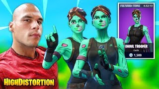 HighDistortion Gets Landed On By TWO GHOUL TROOPER SKINS And Then THIS HAPPENS | Fortnite Moments