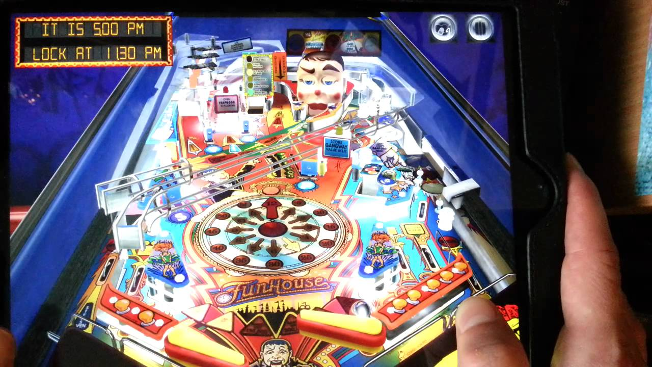 funhouse pinball arcade gameplay