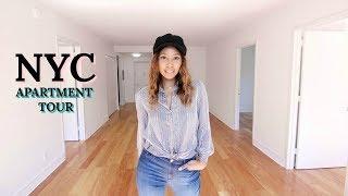 $5,000 NYC Apartment Tour!  Luxury Manhattan Empty Apartments 2018   Nyasia C