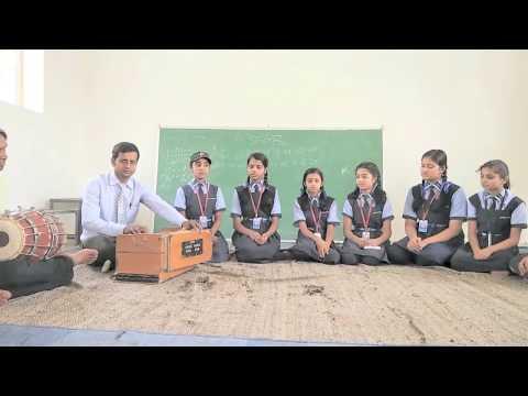 Daya kar daan vidya ka. School prayer. Central Academy Umaria