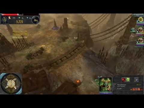 Dawn of War 2 Last Stand with friends ((Necron Reaper and twin Tau battle suits)) |