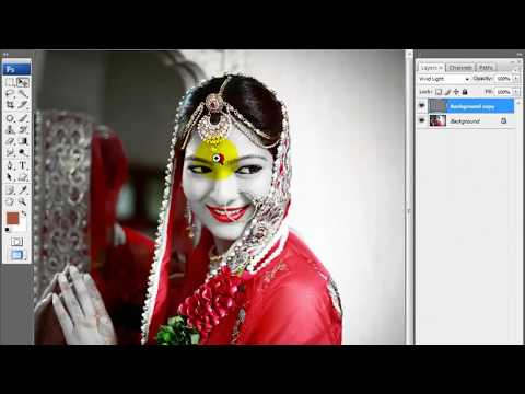 Best effect & retouching in Photoshop Hindi tutorial by Multitalent Video thumbnail