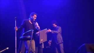 Jan Smit verrast door Rob de Nijs met een Gouden en Platina Award! @ Carré