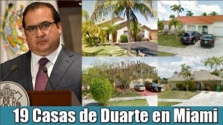 Casas de Javier Duarte en Miami