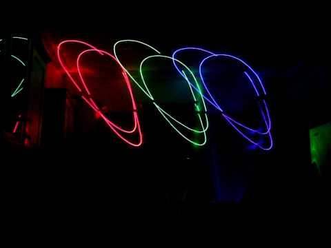 Laser Box Music Laser Light Show Demo Various Artists