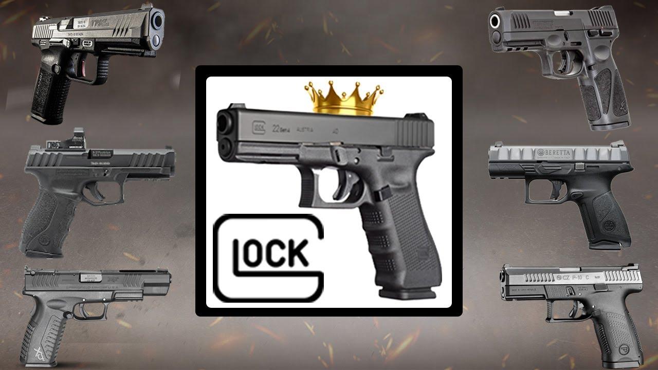 10 Pistolas que Pueden VENCER a GLOCK 👑