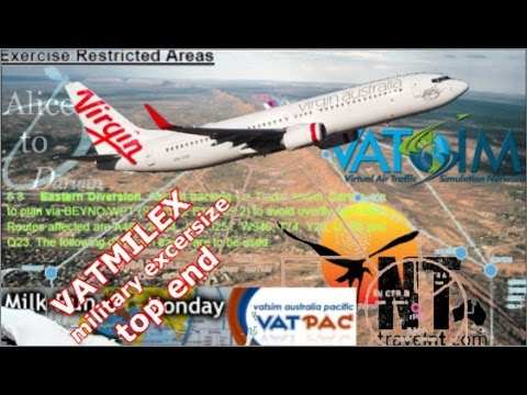 Alice Springs To Darwin, PMDG 737NGX On Vatsim - Talisman Saber