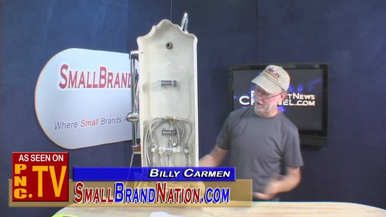 Jet Pro Shower Spa Product Gadget Review With Small Brand Nation S Billy Carmen News Channel