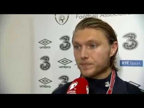 Serbia v Republic of Ireland - Post Match Interview - Jeff Hendrick (5/9/16)