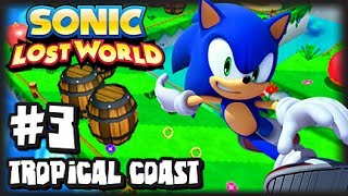 Sonic Lost World Nintendo 3DS - (1080p) - Part 3 Tropical Coast