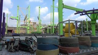 Tilburgse Kermis 2019 Opbouw (17 Juli) (Zwieren en Zwaaien)