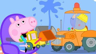 Peppa Pig English Episodes | George Pig Likes Diggers | Cartoons for Kids