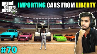 IMPORTING WAR CARS FROM LIBERTY CITY | GTA V GAMEPLAY #70