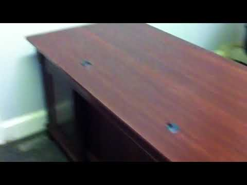 Sauder executive office desk assembly service video in Baltimore by Furniture Assembly Experts LLC