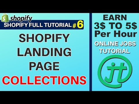 Shopify Collection Items Grouping Online Jobs Philippines Tutorial Tagalog thumbnail
