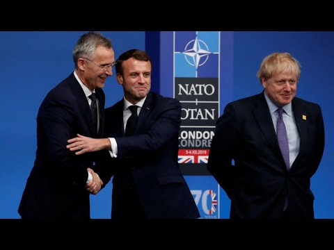 NATO unity on the line as sparring leaders mark 70 years
