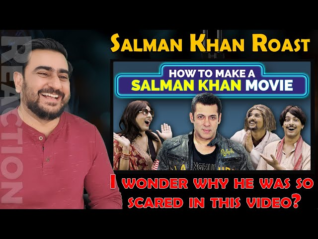 HOW TO MAKE A SALMAN KHAN MOVIE REACTION | Bhai Bhai | Aashqeen