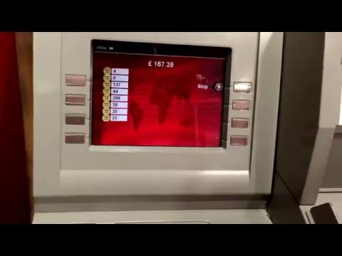 HSBC Coin Counter and Deposit Machine