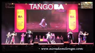 Final Pista, Ronda 1 Mundial de Tango 2015