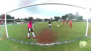 بالفيديو والصور.. مشجع كيني يقتحم أرض الملعب ويهدد اللاعبين بـ«مسدس»