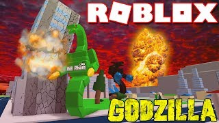 Roblox | BANQUETS YOUTIAO MASSIVE MONSTER BALL-Godzilla Simulator | Kia Breaking