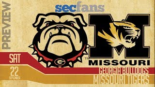 Georgia vs Missouri - 2018 Preview & Predictions College Football - Bulldogs vs Tigers