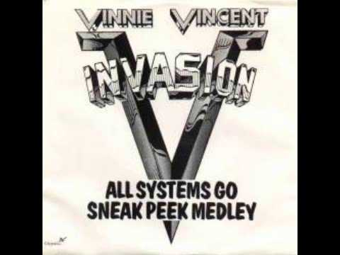 Vinnie Vincent Invasion All Systems Go Sneak Peak Medley