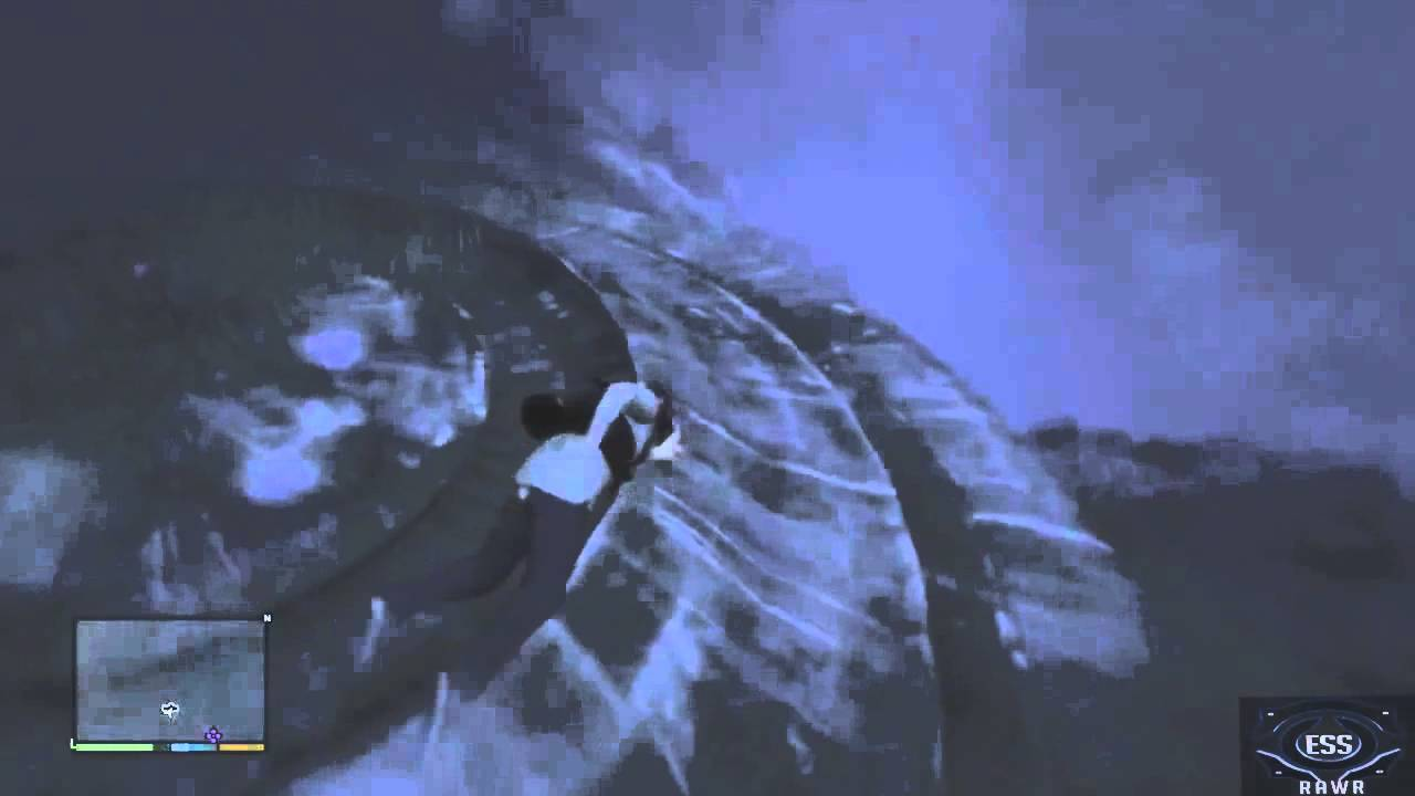 Under The Sea Wallpaper Hd Gta V Gta 5 Easter Egg Quot Crashed Ufo Quot Location Youtube