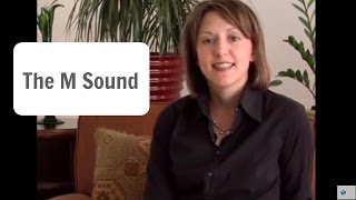 How to Pronounce the English M sound /m/ - Pronunciation Lesson