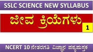 SSLC SCIENCE Ch:-6 Life Processes part 1