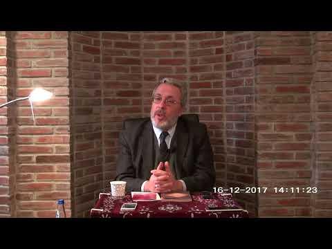 Prof  Dr  Mahmud Erol KILIÇ aralık 2017 Konya  ince minare sohbeti