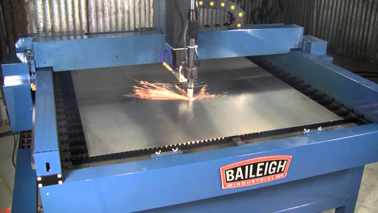 Baileigh Industrial Pt 44s Plasma Table Youtube