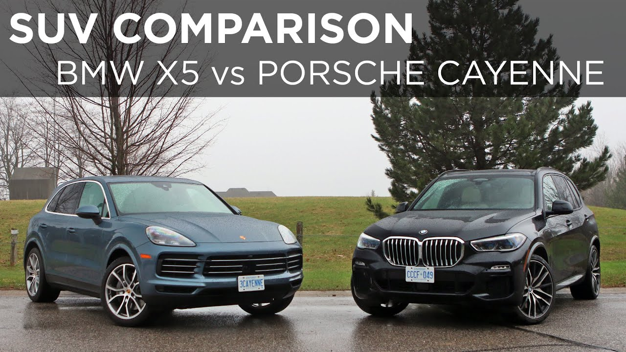 2019 Bmw X5 Vs 2019 Porsche Cayenne Suv Comparison Driving Ca