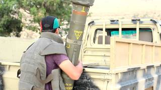 Libyan Revolution - Rebels pack up Milan missiles for the Galaa/Sofit battle