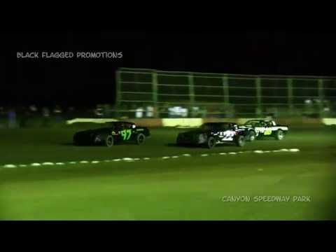 Canyon Speedway Park- Pure Stock Heat #2 March 14th 2015