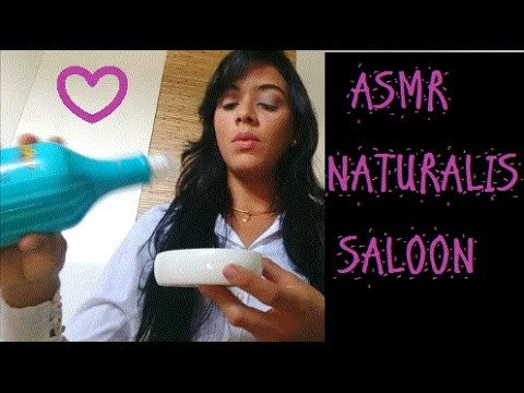 ASMR Naturalis Salão - Sons de água/Massagem facial/Shampooing/ Tuk Tuk sounds