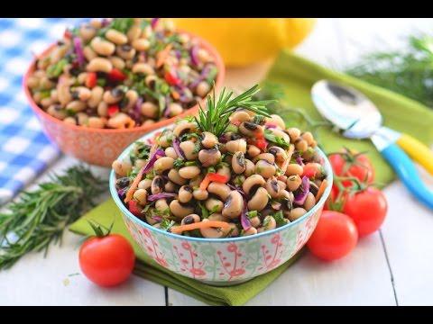 Börülce  Salatası  Tarifi  ( 3  Dakikada Nefis Bir Tarif )