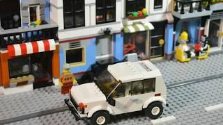 Назад в СССР выпуск №10 LEGO ВАЗ 2121 Niva Сборка в видео Юбилей