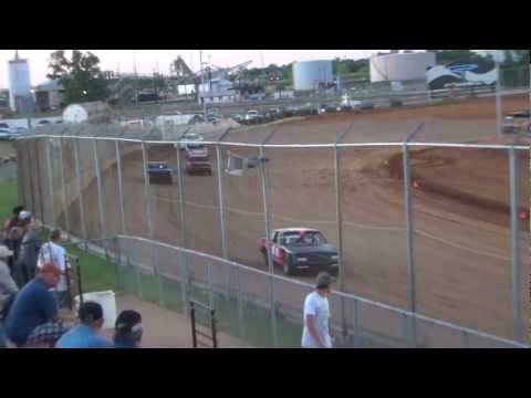 Heat Race 4-21-12 Speedarama Pure Stock