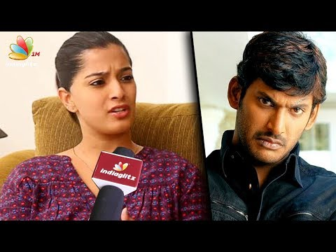 I became a villi for Vishal : Varalakshmi Sarathkumar Interview | Lingusamy's Sandakozhi 2