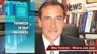 Max Kolonko o TVP - Telewizja to jest business