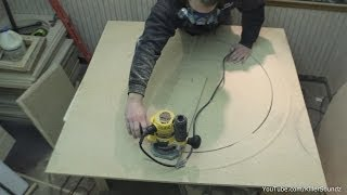 How To Make A Large Circle Jig Quick & Easy | Router Tips