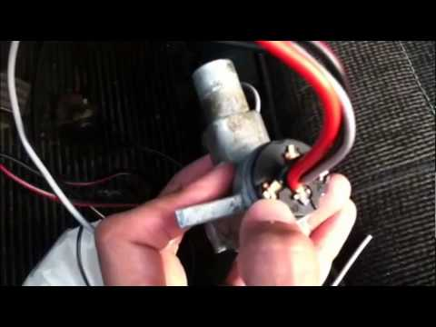 1969 VW Bus Ignition Switch Replacement