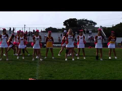 ALHS Cheerleaders vs Balboa