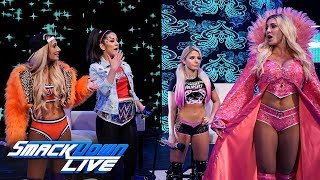 Charlotte Flair and Carmella crash Bayleys Moment of Bliss SmackDown LIVE June 4 2019