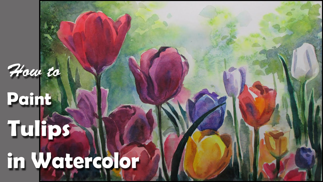 how to make watercolor paint from acrylic