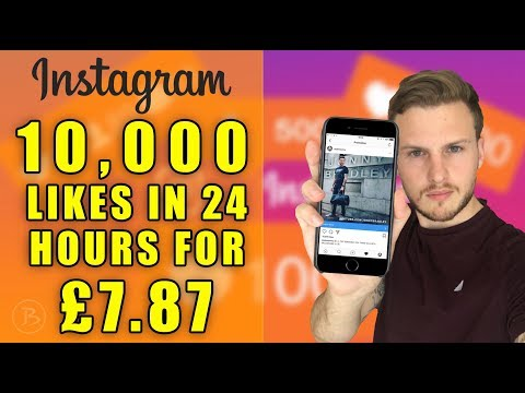 Exactly how I got 10,005 Instagram Likes in 24 hours for just £7.87!!!!  Instagram Hacks 2017