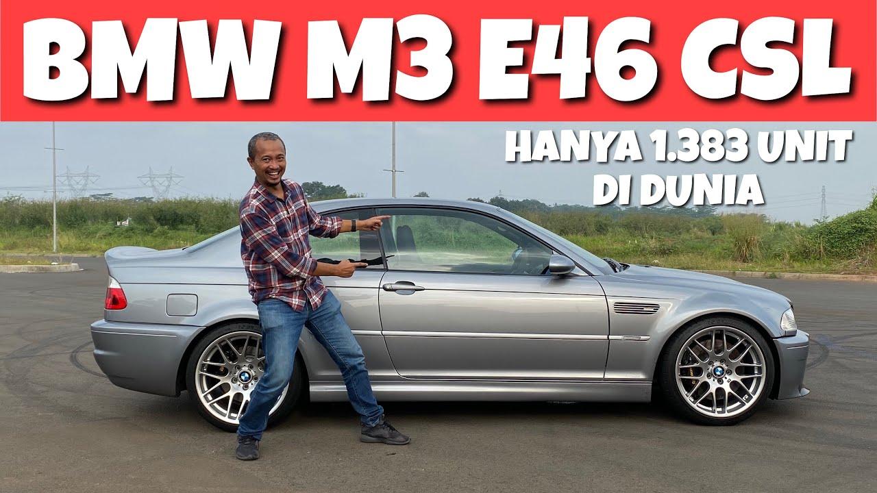FANTASTIS! BEGINI RASANYA BMW M3 E46 CSL